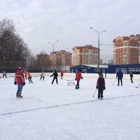 Photo taken at Каток by Vadim B. on 11/30/2014