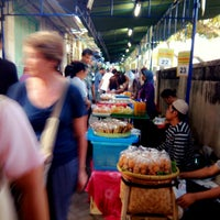 Photo taken at Pasar Sore Ramadhan KAUMAN by inge o. on 7/6/2014