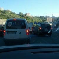 Photo taken at A12 - Genova Est by Marco V. on 10/16/2013