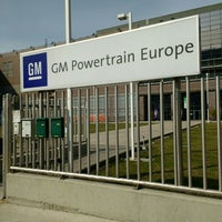 Photo taken at General Motors - Powertrain Europe by Marco V. on 3/2/2016