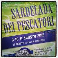 Photo taken at Sardelada 2013 by Marco V. on 8/11/2013