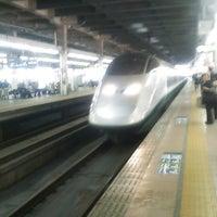 Photo taken at Tohoku Shinkansen Omiya Sta. by monyurun も. on 5/31/2013
