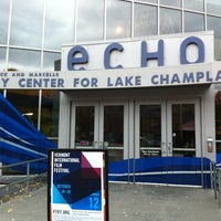 Photo taken at ECHO Lake Aquarium & Science Center by Isabelle V. on 10/21/2012
