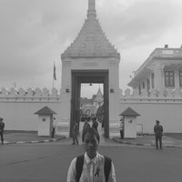 Photo taken at Wiset Chai Si Gate by Tassaneewan C. on 11/23/2016