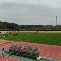 Photo taken at 宮崎市生目の杜運動公園陸上競技場 by rakuyamato on 2/11/2015