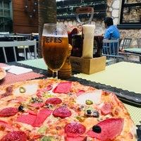 4/14/2018 tarihinde Eda B.ziyaretçi tarafından Gazetta Brasserie - Pizzeria'de çekilen fotoğraf