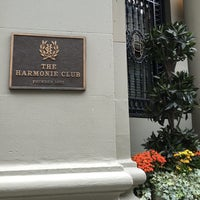 Photo taken at The Harmonie Club by hiro n. on 5/7/2016