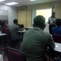 Photo taken at Asia E-University, Kuala Lumpur, Malaysia - Degree, Master, PhD, eLearning, by Ayu A. on 6/15/2014