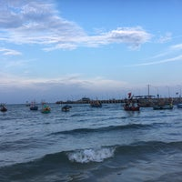 Photo taken at Hua Hin Fishing Pier by Vicky F. on 4/28/2017