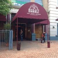 Photo taken at Market Theatre by Natalie V. on 10/27/2013