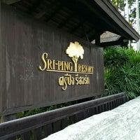 Photo taken at Sri Ping Resort by Daniel R. on 1/24/2014