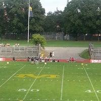 Photo taken at Dantestadion by Bernd M. on 8/10/2013