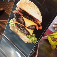 Photo taken at Kangaroo Australian Burger by Carlos J. on 2/20/2015