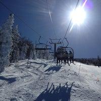 Photo taken at Cannon Mountain Ski Area by Patrick B. on 3/9/2013
