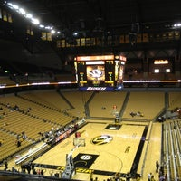 Photo taken at Mizzou Arena by Tom C. on 2/1/2013