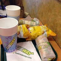 Photo taken at Subway by Pamela C. on 9/12/2014