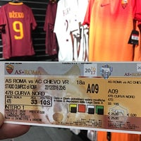Photo taken at AS Roma Store by Алексей Л. on 12/22/2016