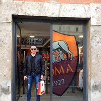Photo taken at AS Roma Store by Алексей Л. on 12/24/2016
