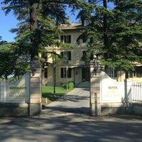 Photo taken at Villa La Bollina by Алексей Л. on 5/24/2014