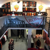 Photo taken at AS Roma Store by Алексей Л. on 12/23/2016