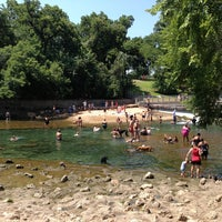 Photo taken at Barton Springs Spillway by Joe B. on 7/6/2013