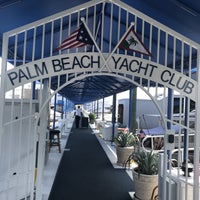 Photo Taken At Palm Beach Yacht Club By Kelley B On 4 30