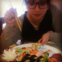 Photo taken at Kymata Sushi Bar by Chrisa K. on 12/21/2014