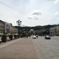 Photo taken at Piazza Vittorio Veneto by Pietro B. on 5/25/2013