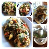 Photo taken at ริมเขื่อน (Rim Khuean Restaurant) by FögGy T. on 12/22/2012