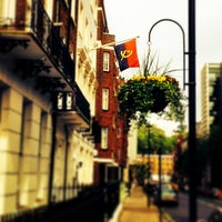 Photo taken at Angolan Embassy by Igeezy C. on 5/14/2014