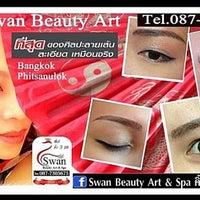 Photo taken at Swan Beauty Art & Spa by Pornsawan A. on 9/11/2013