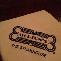 Photo taken at Morton's the Steakhouse by Karri N. on 12/22/2012