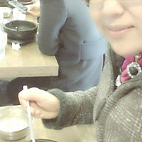 Photo taken at Jeonju Bibimbap Korean Restaurant by Mazz Tun H. on 12/7/2013