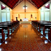 Photo taken at Sto. Rosario Heights Chapel by Dean N. on 5/11/2013