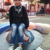 Photo taken at Piazzetta Dante by Mariagrazia R. on 9/24/2013
