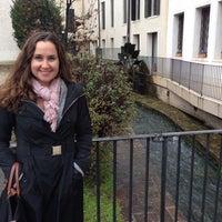 Photo taken at Piazza Della Università by Laura Y. on 11/23/2013