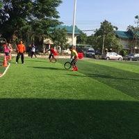 Photo taken at ศูนย์กีฬาโรงพยาบาลเชียงรายประชานุเคราะห์ by Noon K. on 12/20/2014