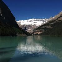 Photo taken at Lake Louise by Michael K. on 7/16/2013