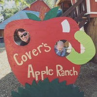 Photo taken at Cover's Apple Ranch by Kathryn B. on 9/25/2016
