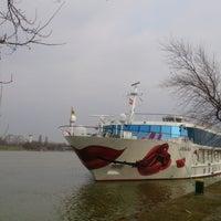 Photo taken at Reichsbrücke by SMR on 3/15/2017
