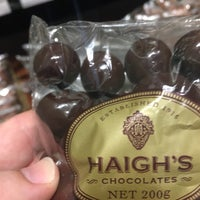 Photo taken at Haigh's Chocolates by John P. on 12/11/2017