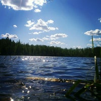 Photo taken at Барское озеро by Nata 💕☀ on 6/17/2015