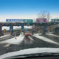 Photo taken at I-90 / Mass Turnpike Tolls by Michael O. on 1/2/2014