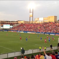 Photo taken at Toyota Stadium by Carlos M. on 5/26/2013
