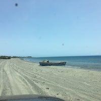 Photo taken at Playa el Derrumbao by Jaissa F. on 6/26/2016
