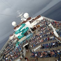 Photo taken at Carnival Victory by Tip on 2/28/2013