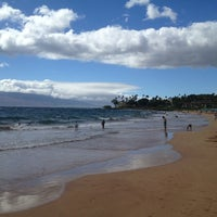 Photo taken at Wailea Beach by Mike C. on 7/2/2013