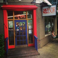 Photo taken at Sabor Latin Street Grill by Steven C. on 8/13/2014