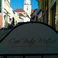 Photo taken at Café Bistro Matiné by Lukáš V. on 8/12/2013