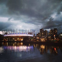 Photo taken at BC Place by Ysk on 10/3/2013